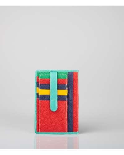 Porta Tessere Carte Multicolore
