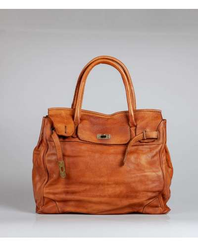 Borsa Shopping Glam in vera...